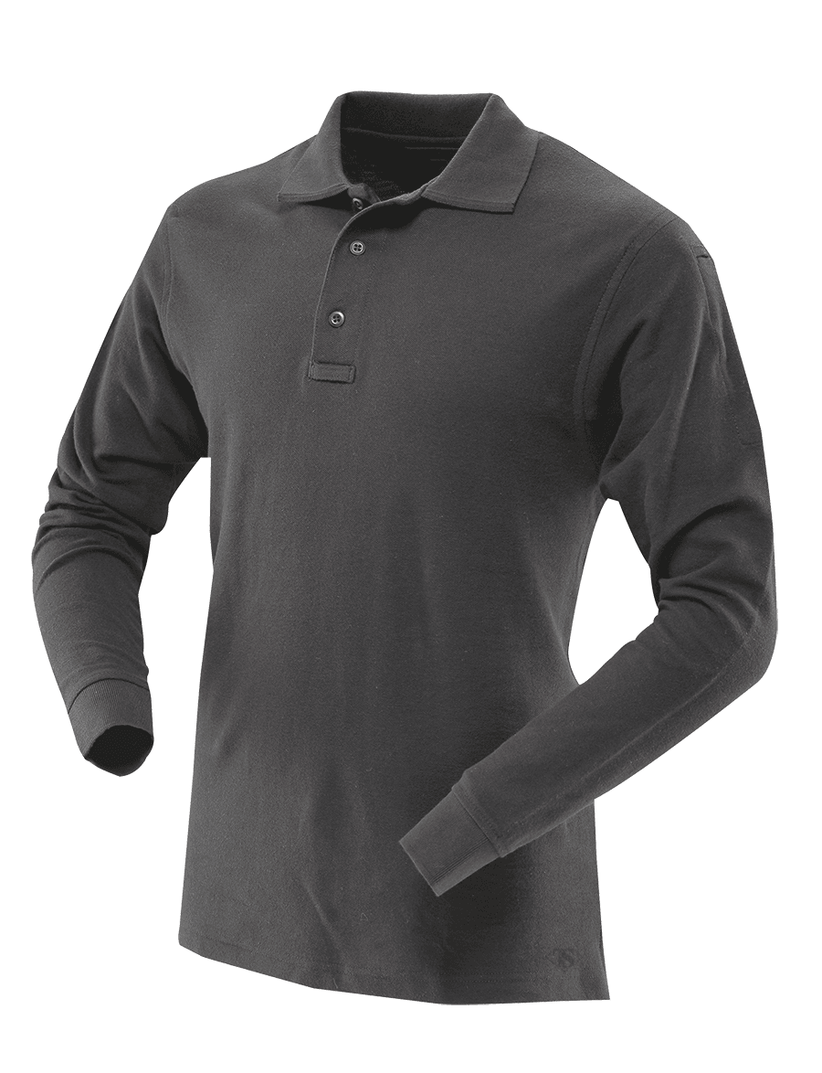 MEN'S 24-7 SERIES® LONG SLEEVE CLASSIC 100% COTTON POLO