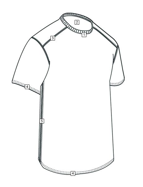 CORDURA® BASELAYER CREW NECK SHIRTS