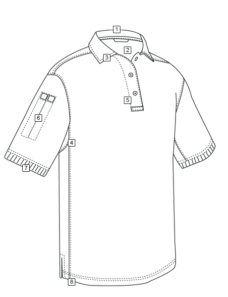 MEN'S 24-7 SERIES® BASIC BLEND SHORT SLEEVE POLO