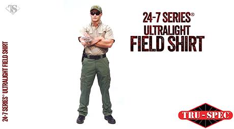 MEN'S 24-7 SERIES® ULTRALIGHT LONG SLEEVE FIELD SHIRT