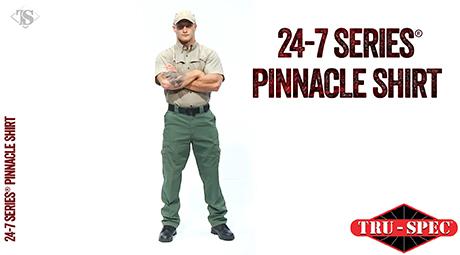 MEN'S 24-7 SERIES® LONG SLEEVE PINNACLE SHIRT
