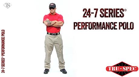 MEN'S 24-7 SERIES® LONG SLEEVE PERFORMANCE POLO