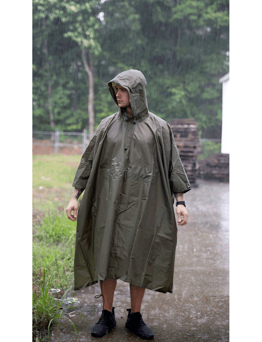 GI SPEC MILITARY PONCHO