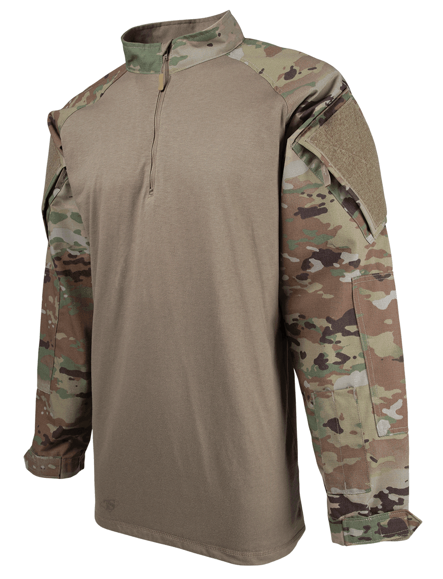 MEN'S SCORPION OCP 1/4 ZIP COMBAT SHIRT