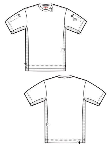 MEN'S ECO TEC TAC T-SHIRT
