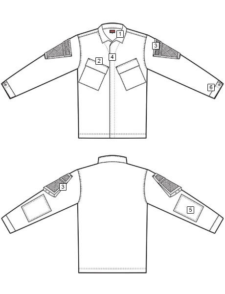 Shirt Diagram