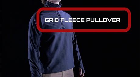 GRID FLEECE PULLOVER