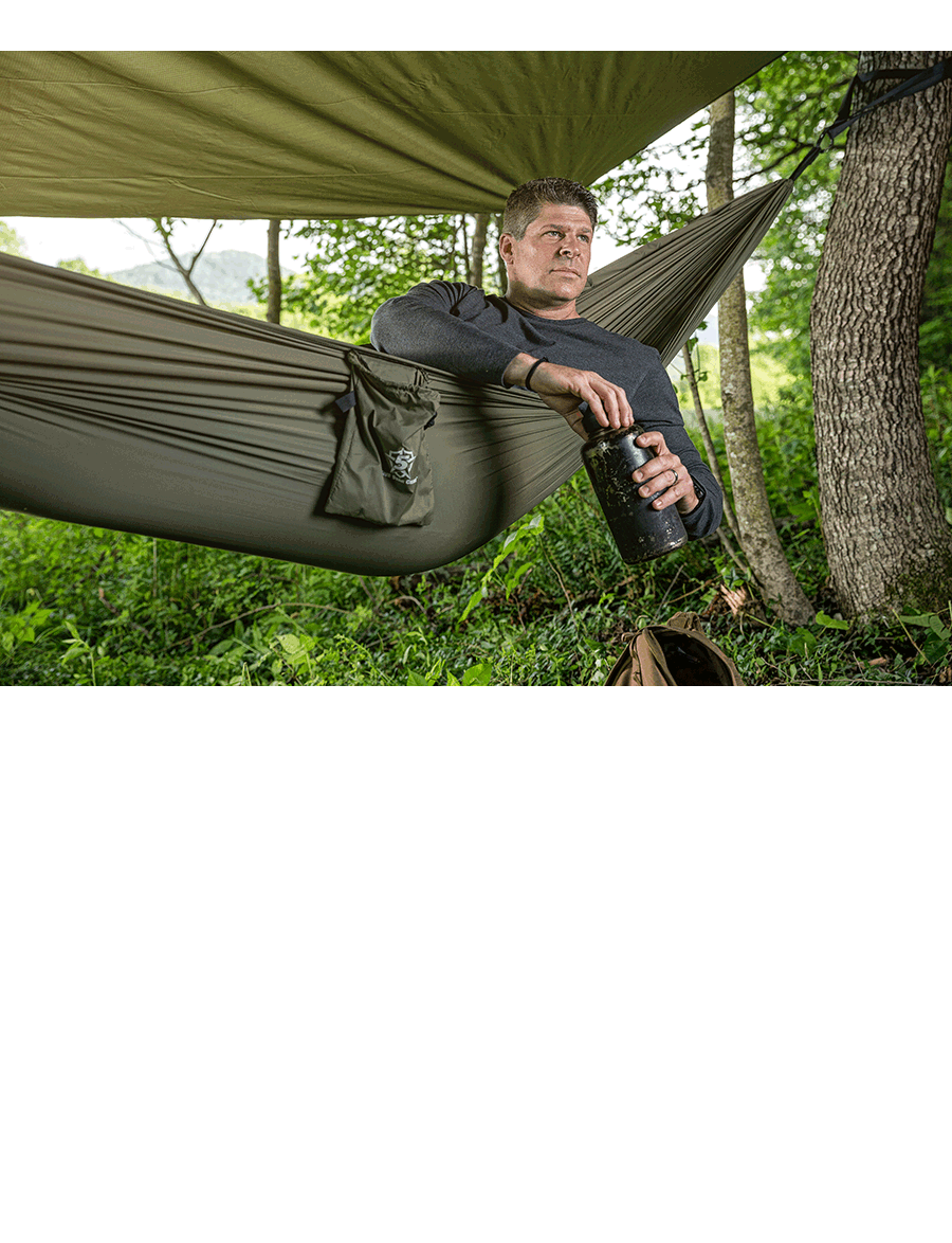 CAMPING HAMMOCK ALL-IN-ONE KIT