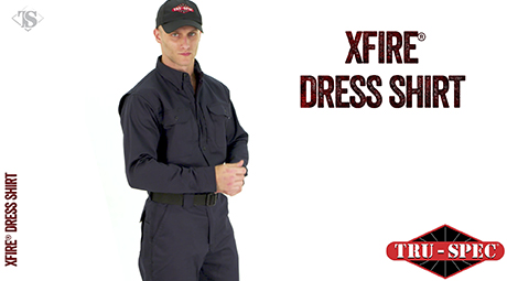 XFIRE® LONG SLEEVE DRESS SHIRT