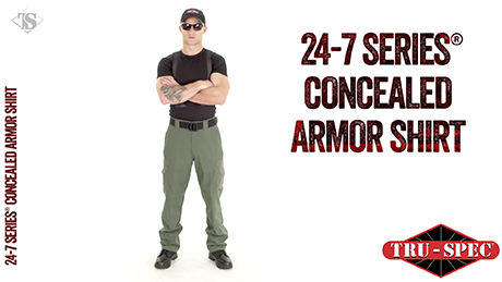 MEN'S CONCEALED ARMOR SHIRT