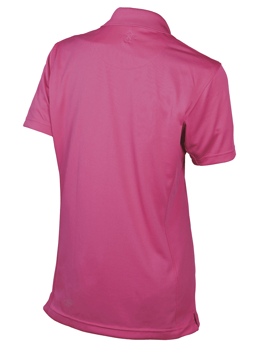 WOMEN'S SHORT SLEEVE SURVIVOR ECO TEC POLO