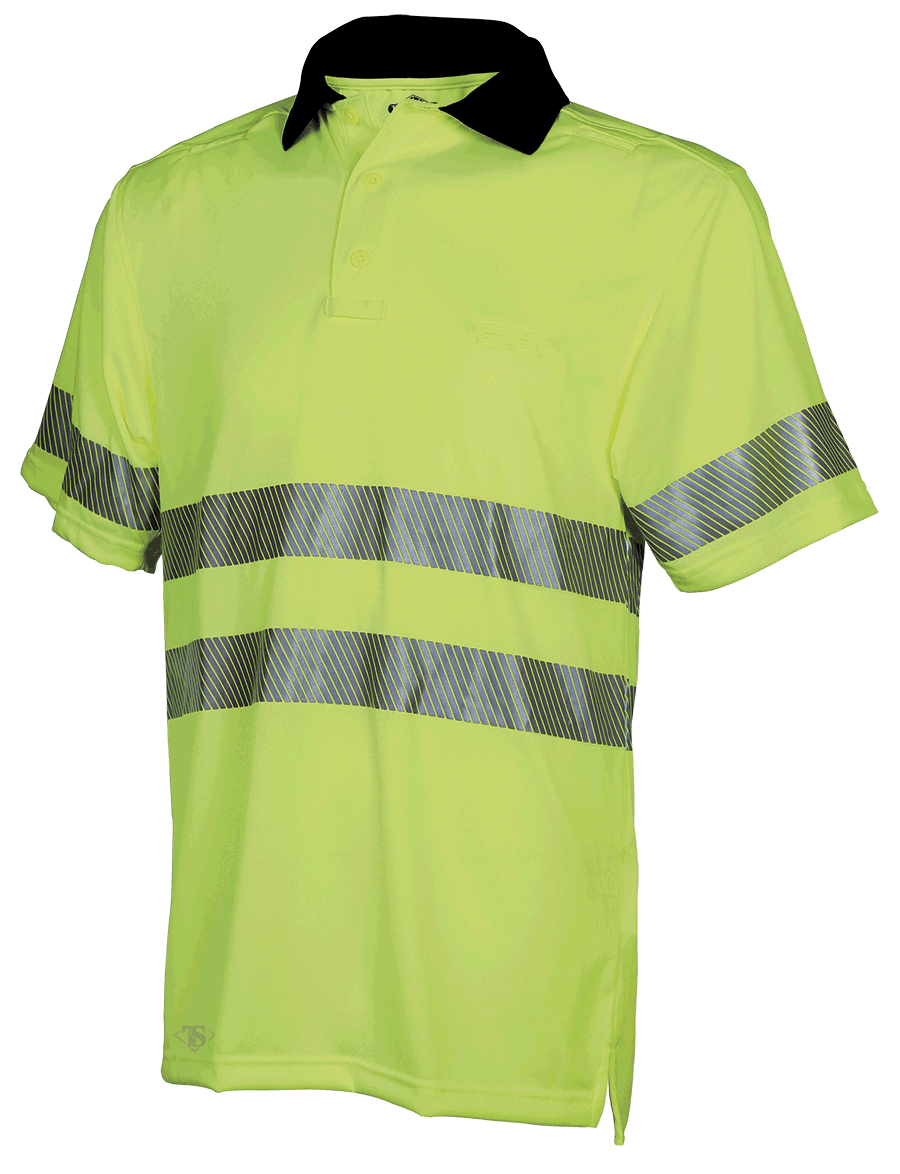 MEN'S SHORT SLEEVE PERFORMANCE POLO WITH REFLECTIVE TAPE