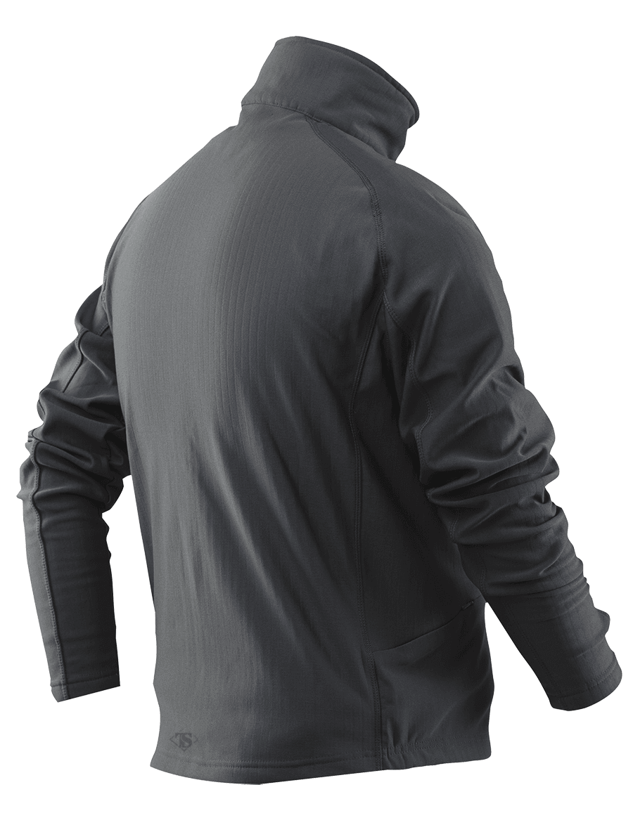 GRID FLEECE PULLOVER