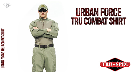 URBAN FORCE TRU 1/4 ZIP COMBAT SHIRT
