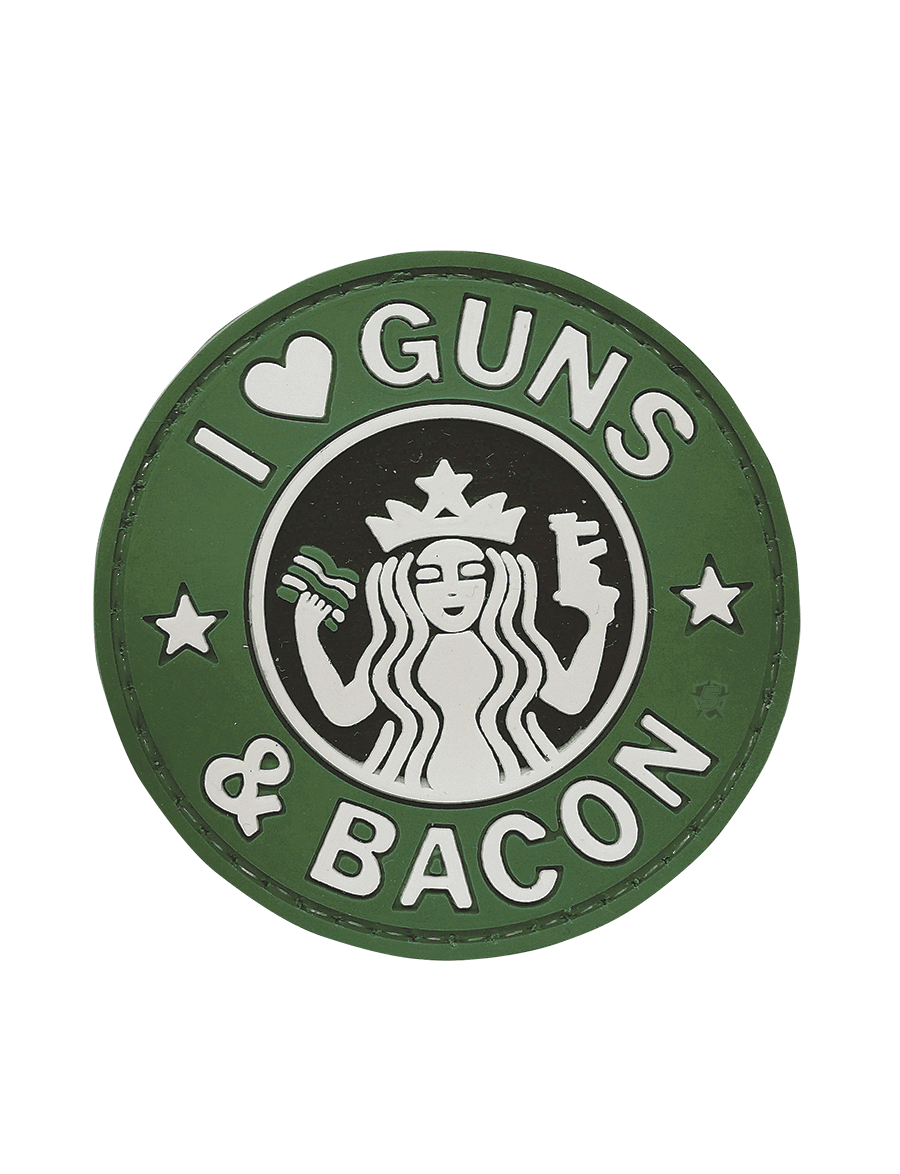 GUNS AND BACON MORALE PATCH