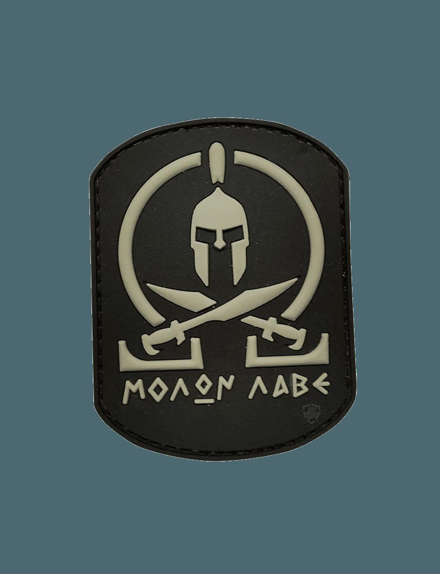 BLACK MOLON LABE MORALE PATCH