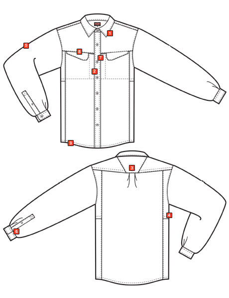 MEN'S ULTRALIGHT LONG SLEEVE FIELD SHIRT