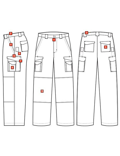 MEN'S 24-7 SERIES® ORIGINAL TACTICAL PANTS WITH CONTRAST STITCHING