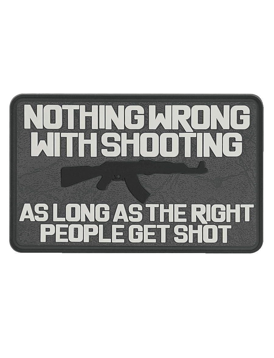 NOTHING WRONG MORALE PATCH