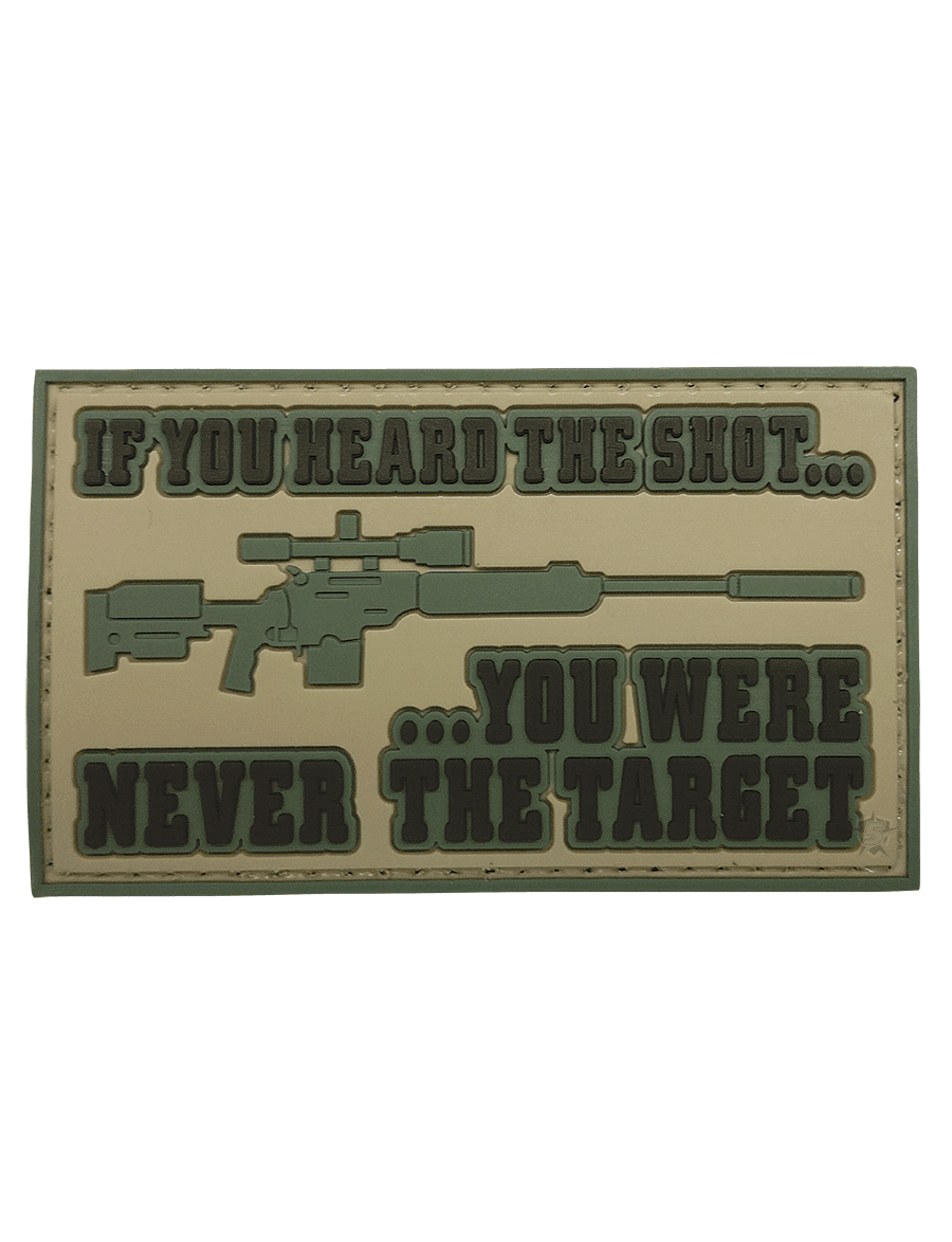 HEARD THE SHOT MORALE PATCH
