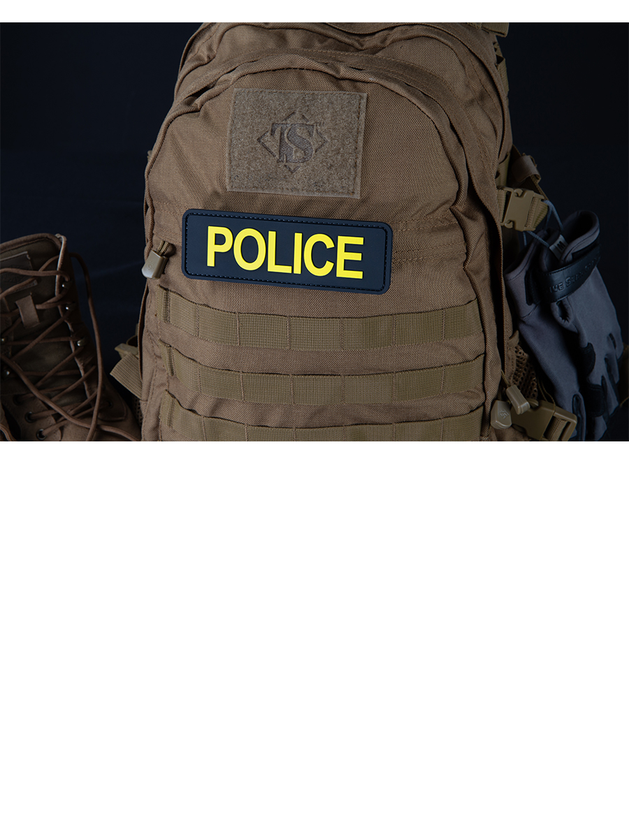"POLICE 6""X2"" MORALE PATCH"