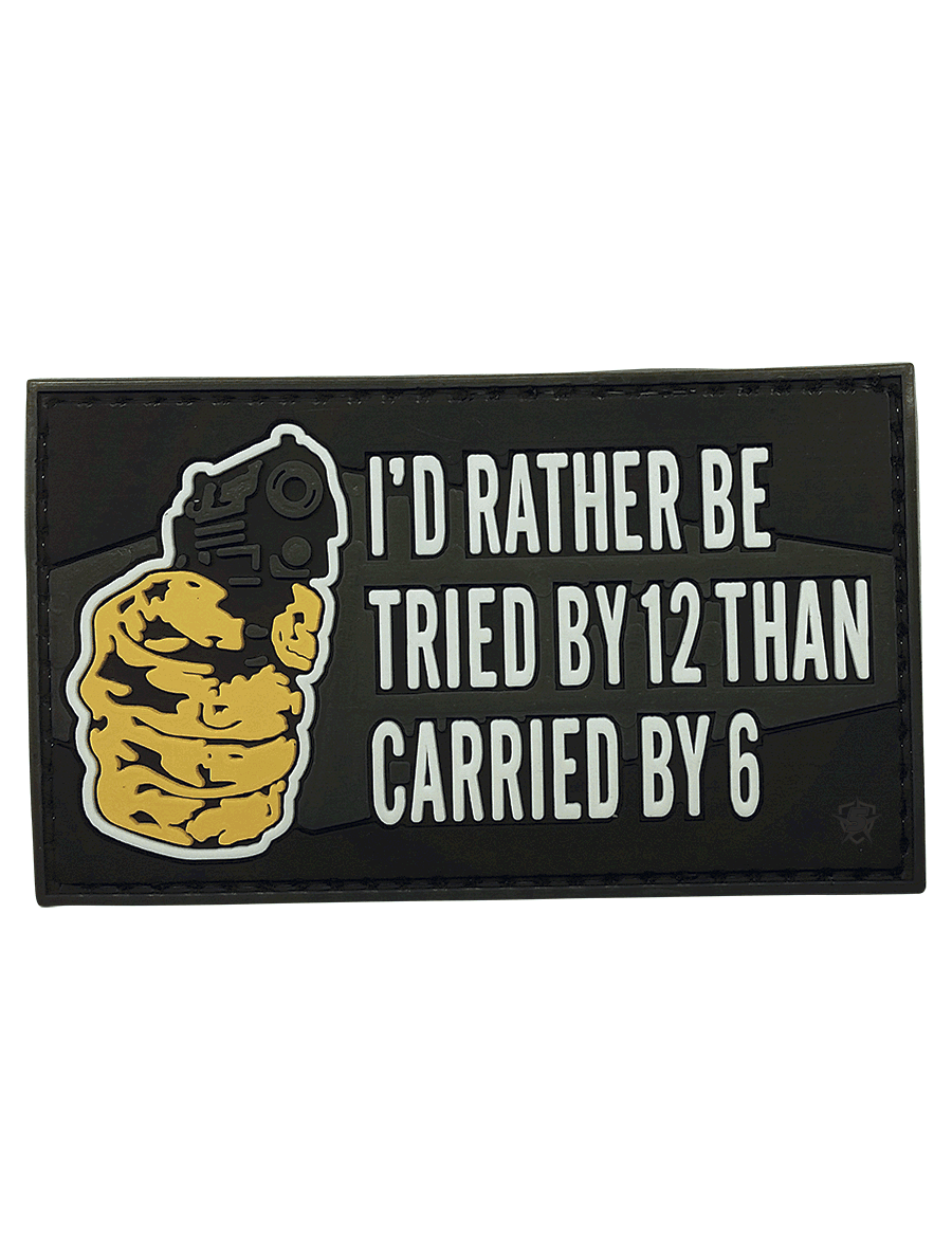 TRIED BY 12 MORALE PATCH