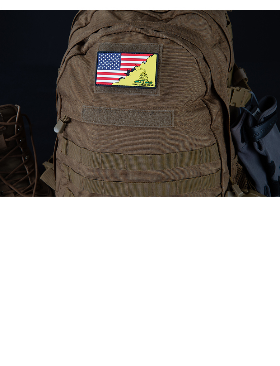 AMERICA/DON'T TREAD FLAG MORALE PATCH