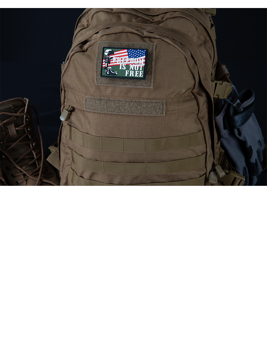 FREEDOM IS NOT FREE MORALE PATCH