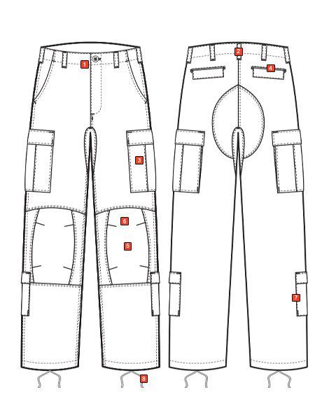 HOT WEATHER SCORPION OCP ARMY COMBAT UNIFORM PANTS