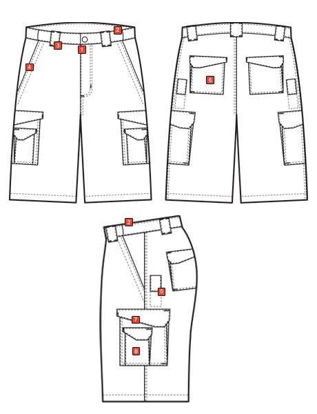 MEN'S ORIGINAL TACTICAL SHORTS
