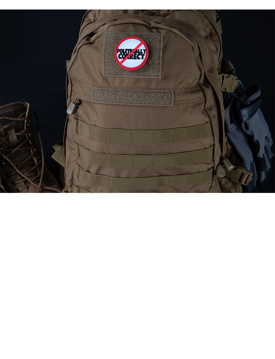 NOT POLITICALLY CORRECT MORALE PATCH