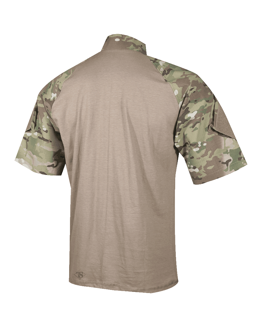 T.R.U.® SHORT SLEEVE 1/4 ZIP COMBAT SHIRT