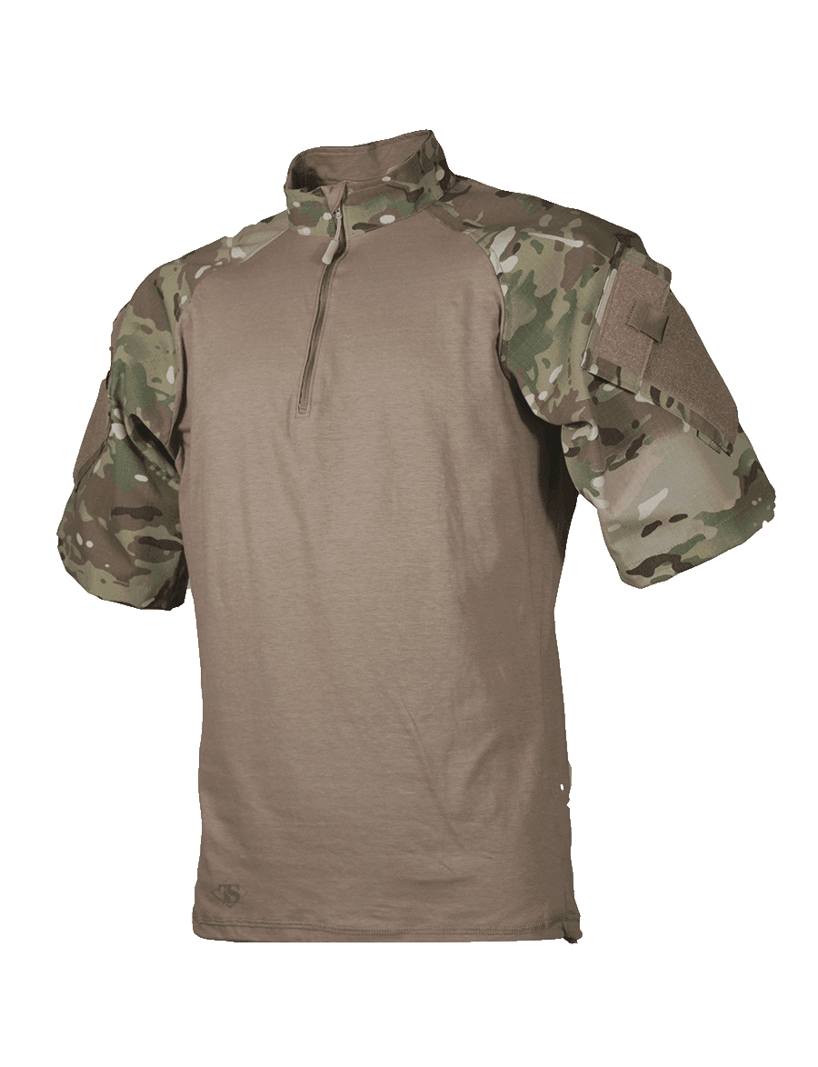 T.R.U. SHORT SLEEVE 1/4 ZIP COMBAT SHIRT