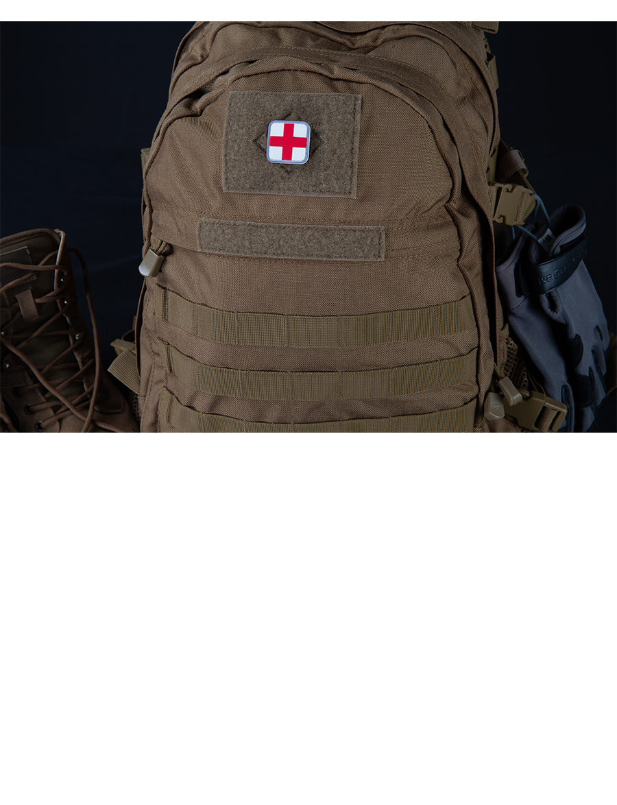 RED CROSS MORALE PATCH