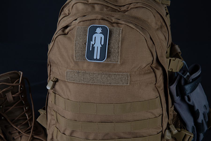 TACTICAL RR GIRL MORALE PATCH