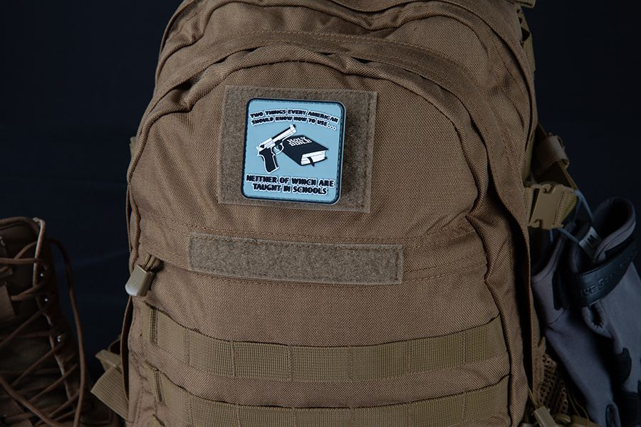 KNOW HOW TO USE MORALE PATCH