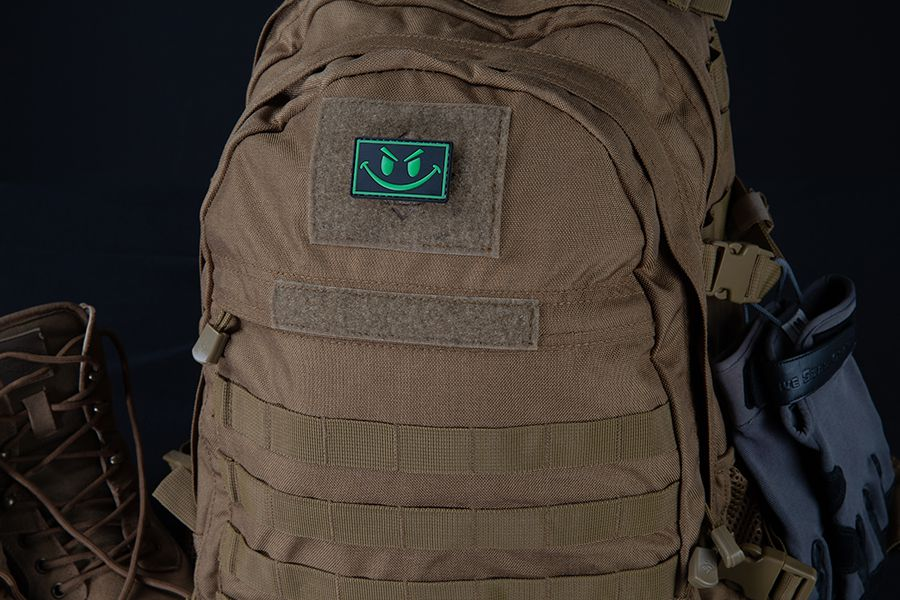 SMILE NIGHT GLOW MORALE PATCH