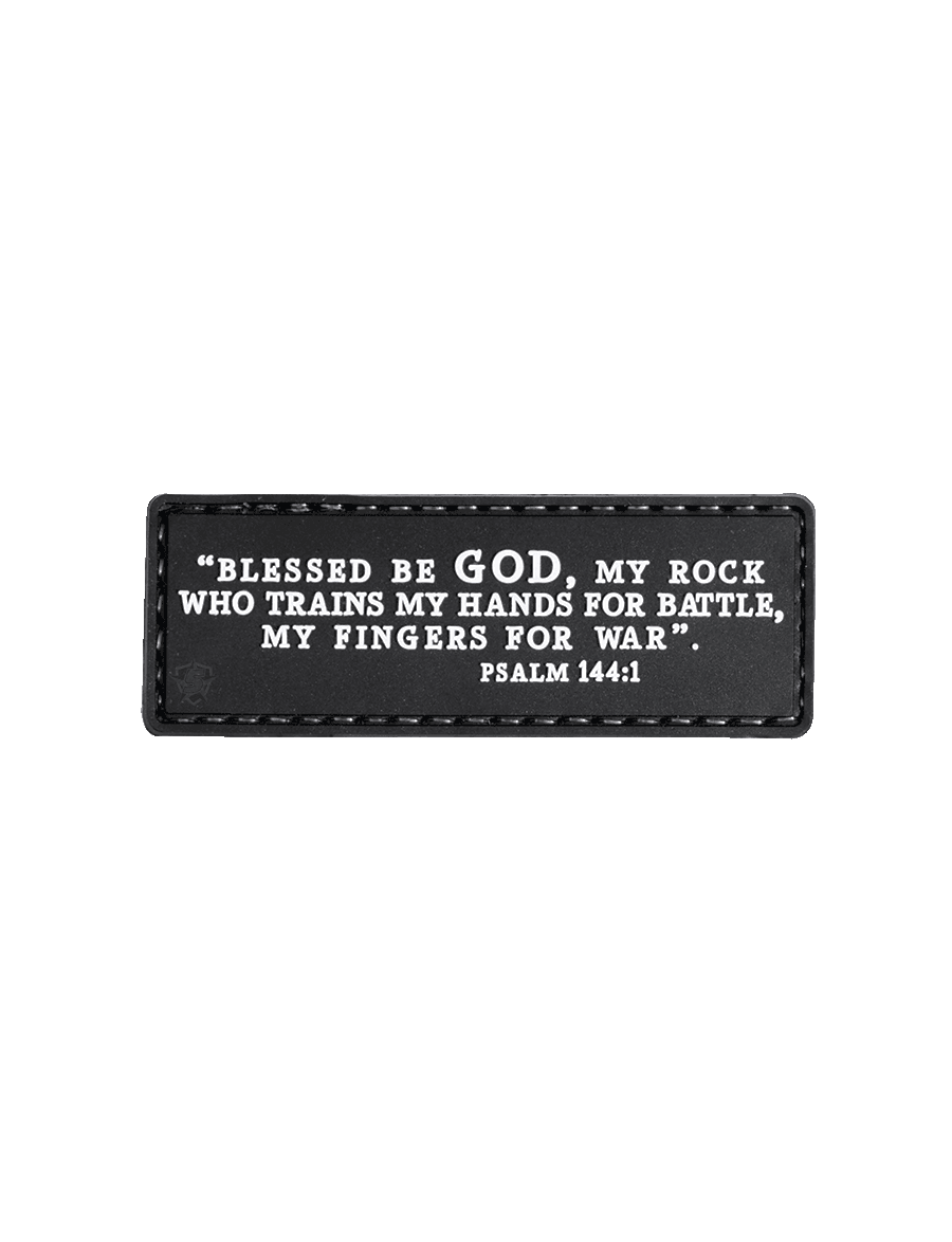 PSALM 144:1 MORALE PATCH