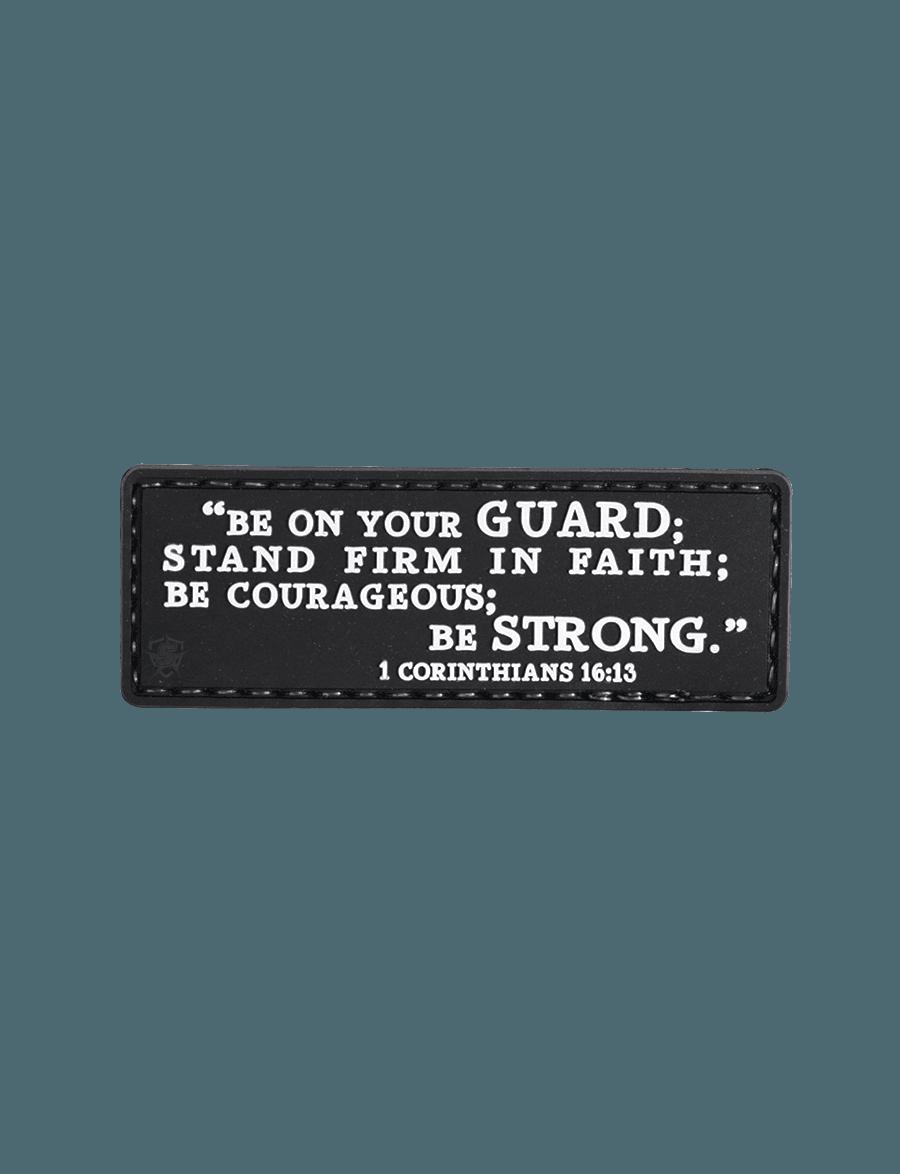 1 CORINTHIANS 16:13 MORALE PATCH