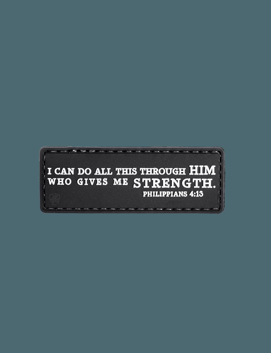 PHILIPPIANS 4:13 MORALE PATCH
