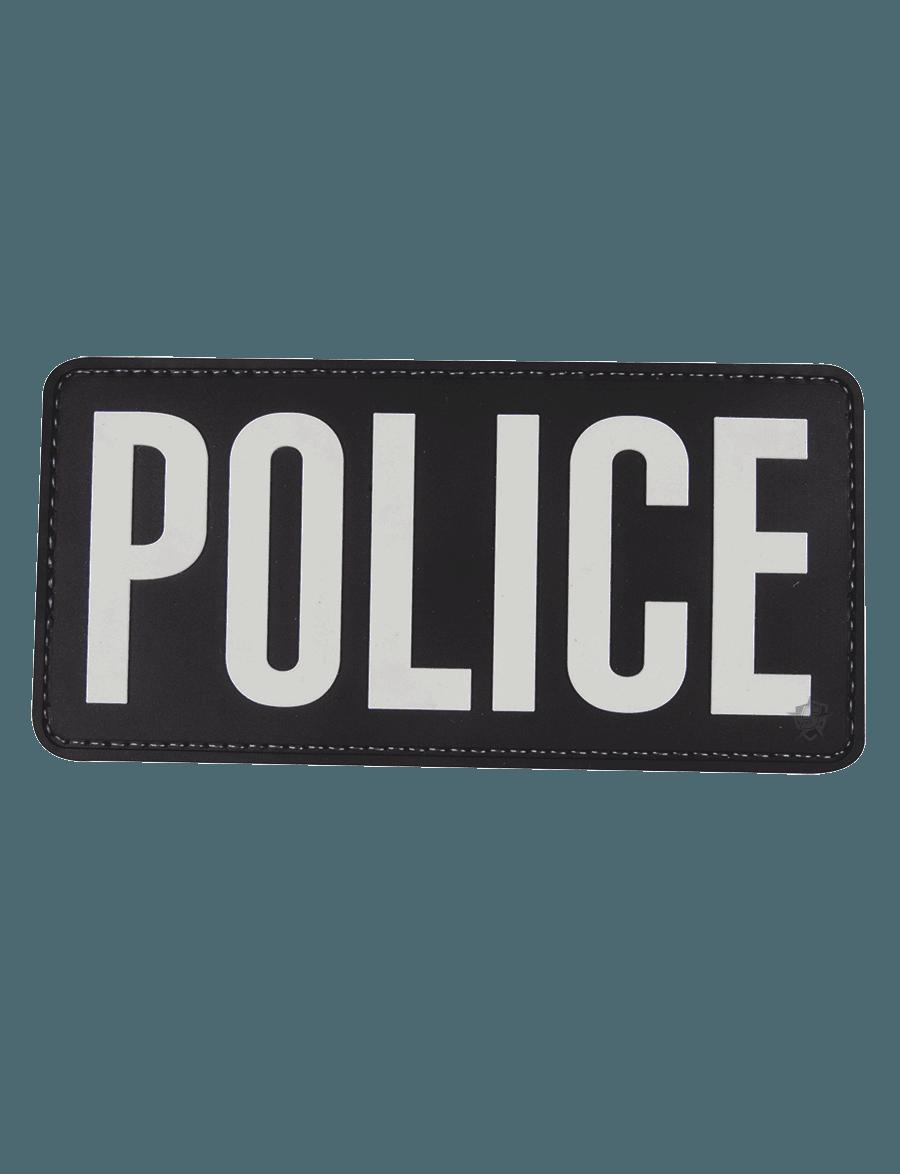 "POLICE 6""X3"" MORALE PATCH"