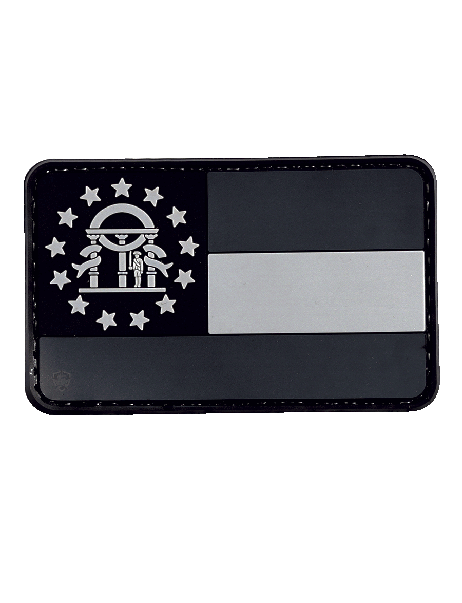 SUBDUED GEORGIA FLAG MORALE PATCH