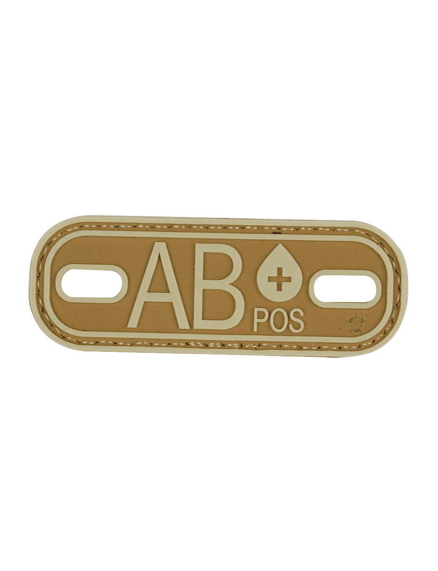 BLOOD TYPE AB+ MORALE PATCH