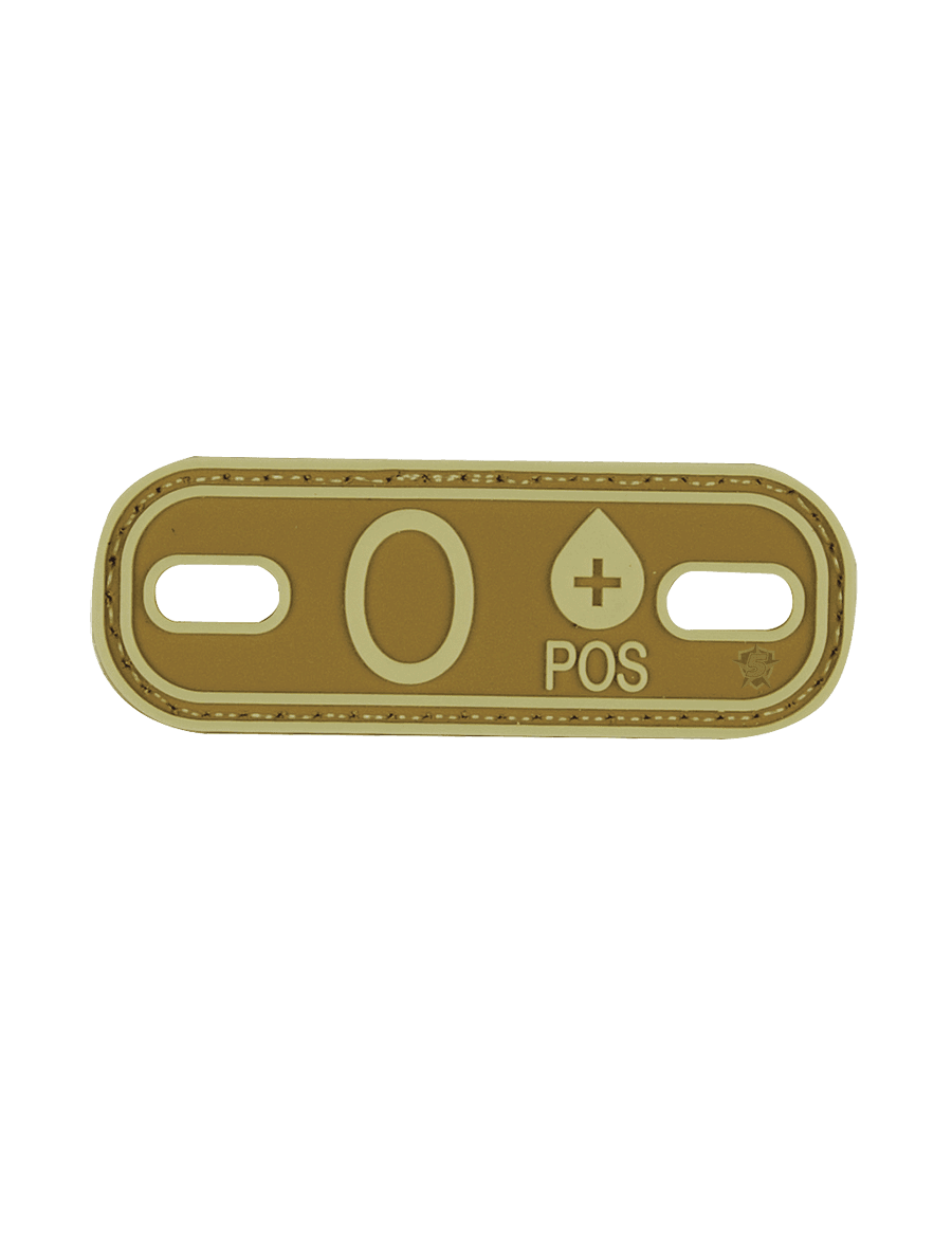 BLOOD TYPE O+ MORALE PATCH