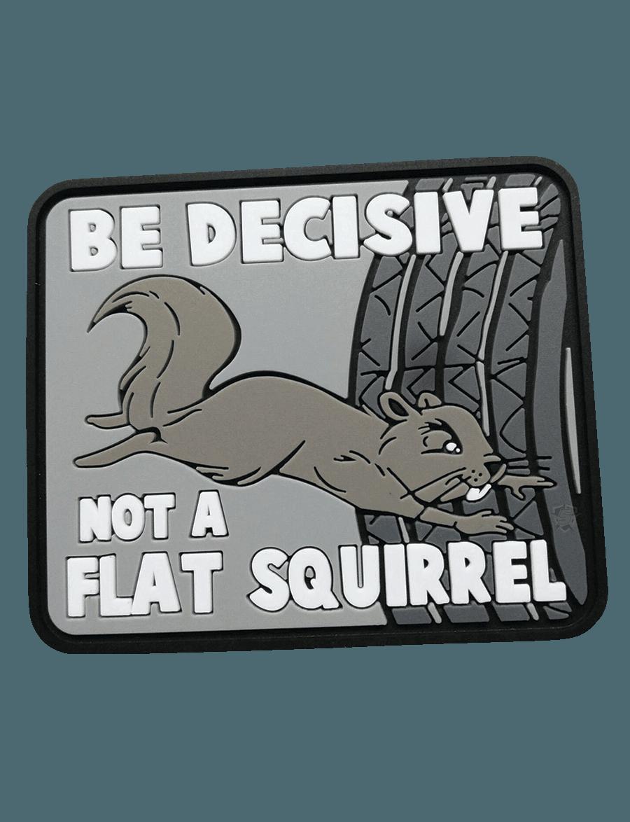 BE DECISIVE MORALE PATCH