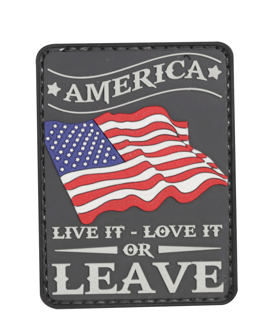 AMERICA LIVE IT, LOVE IT MORALE PATCH