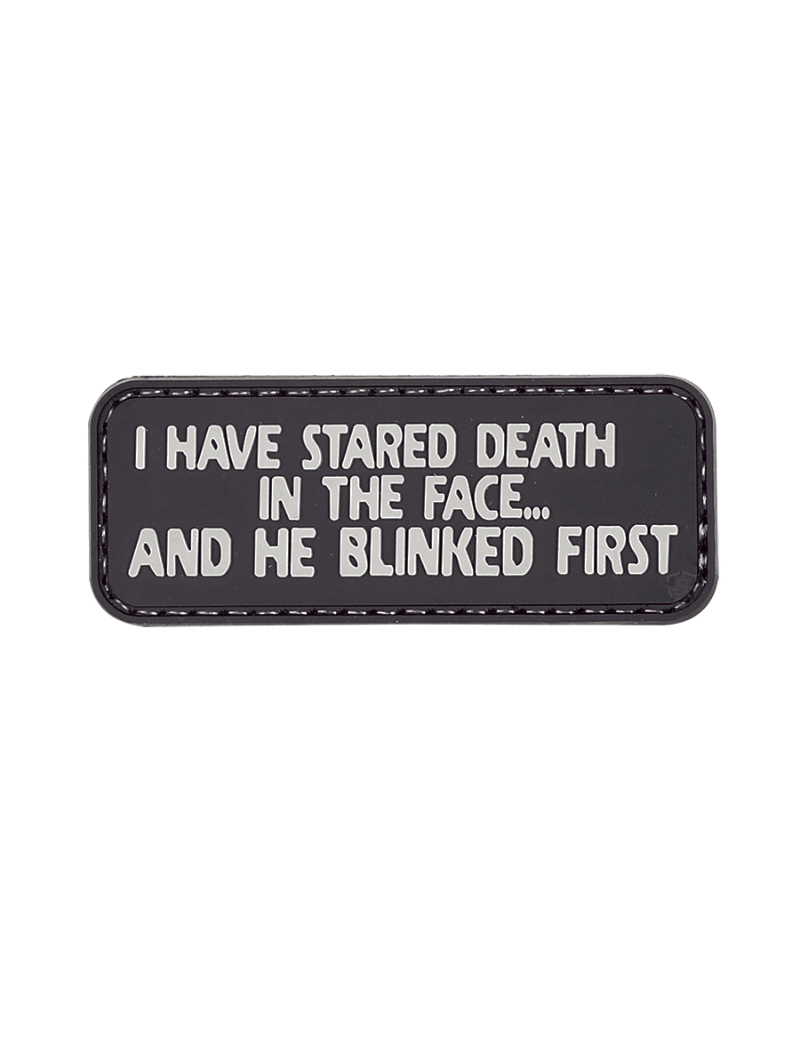 I HAVE STARED DEATH MORALE PATCH