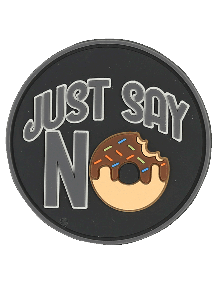 JUST SAY NO MORALE PATCH