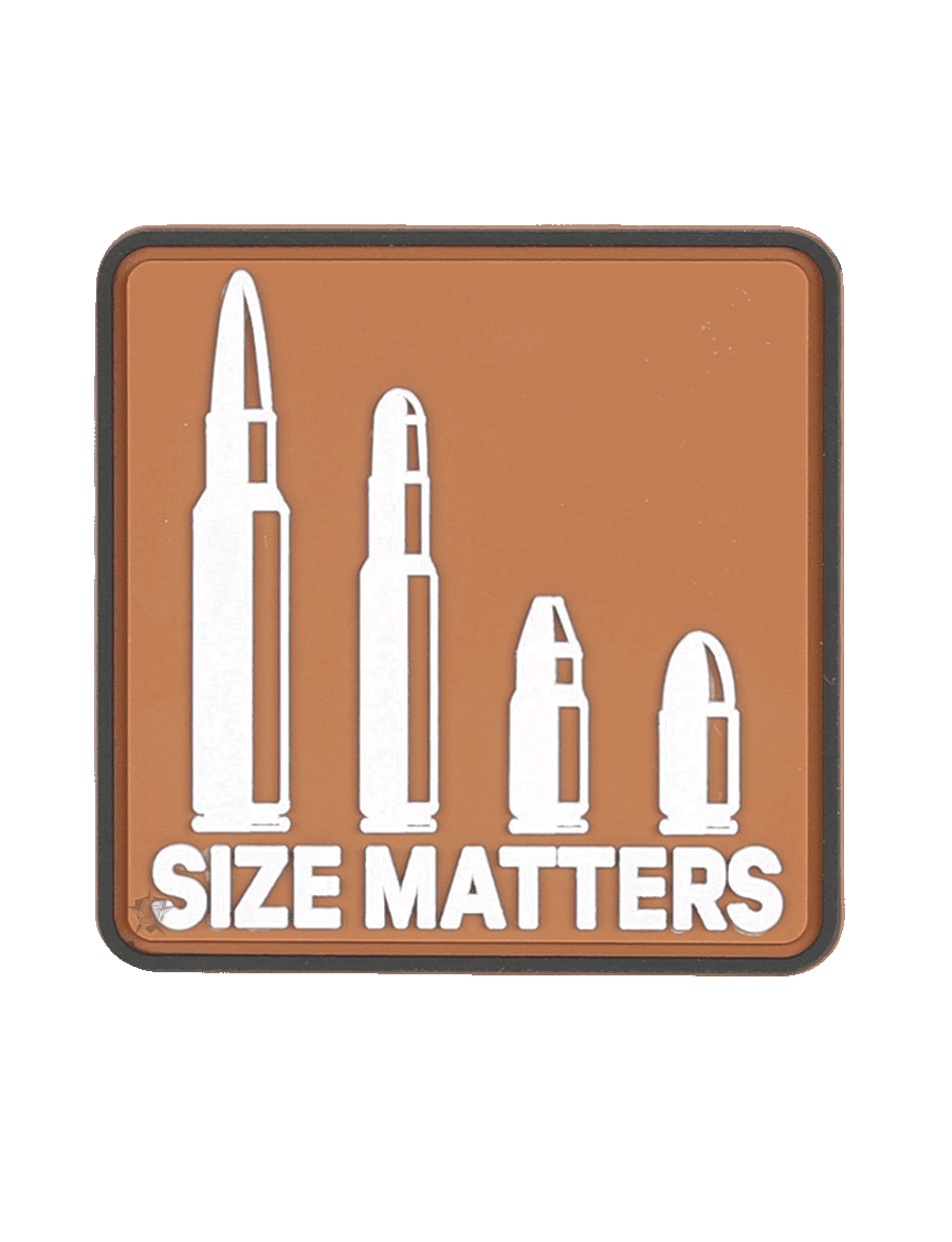 SIZE MATTERS MORALE PATCH