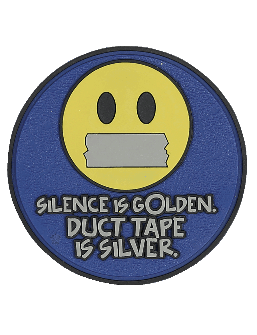 SILENCE IS GOLDEN MORALE PATCH